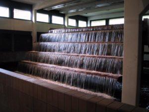 Iltningstrappe på et vandværk